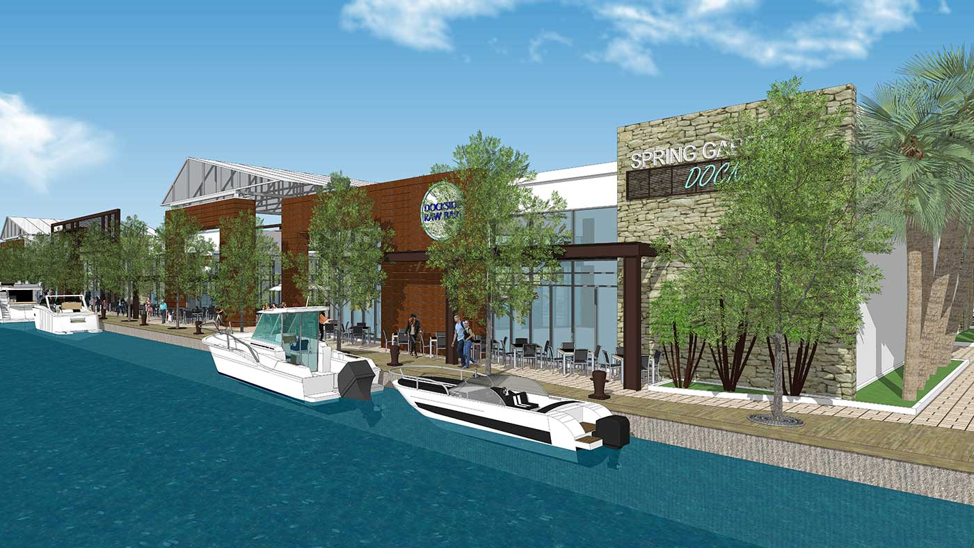 Seybold Canal – Spring Garden Dockside