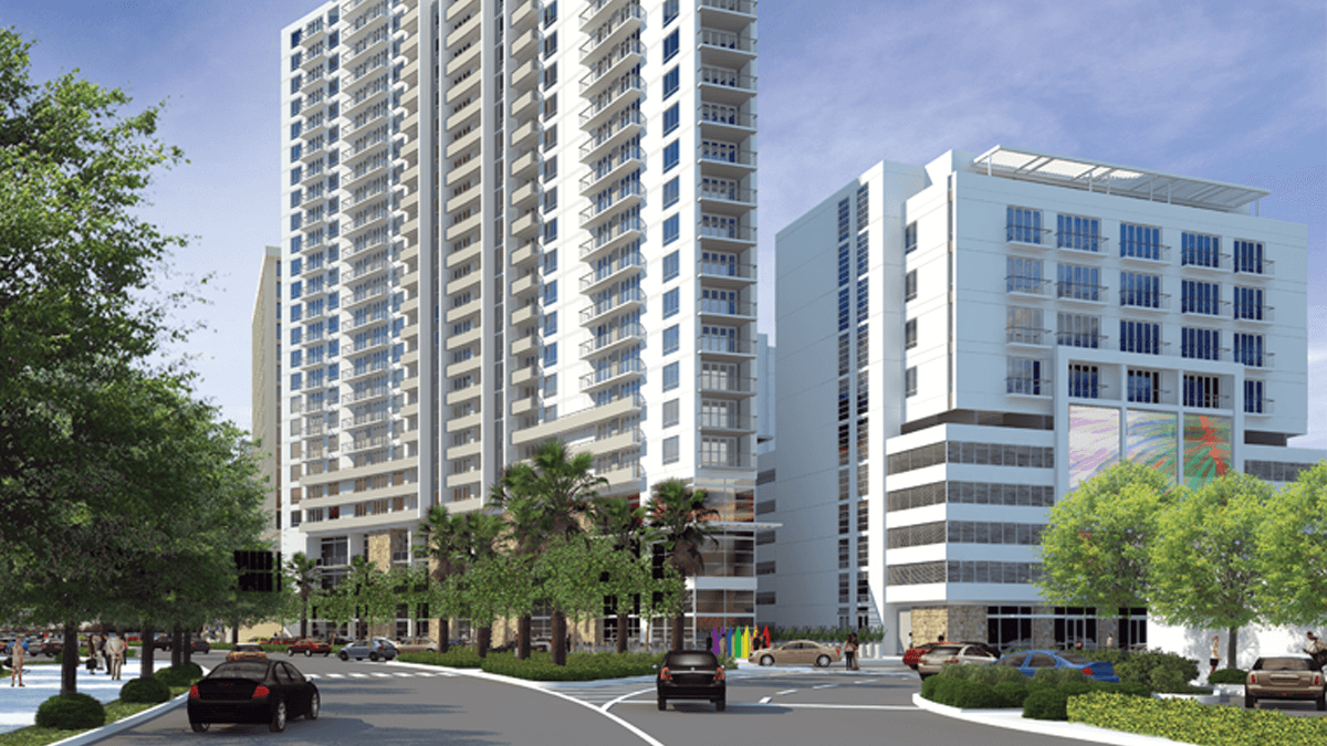 Hollywood Fl News >> Developer Proposes Four Residential Towers In Downtown